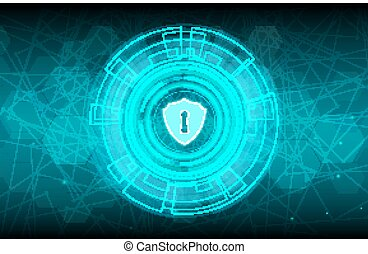 Abstract technology concept background