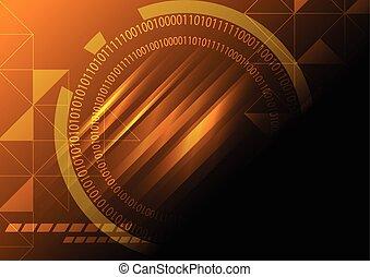 abstract technology concept vector