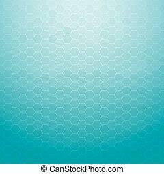 Abstract technology geometric hexagon blue background for designs