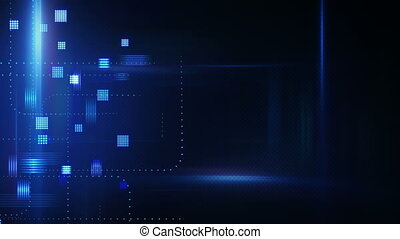 abstract technology loopable background