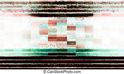 Abstract Technology Screen Display