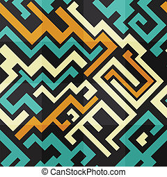 abstract technology seamless pattern