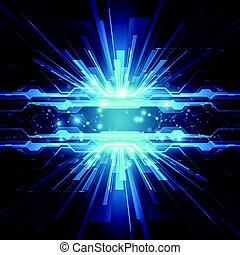 Abstract technology speed concept. vector background
