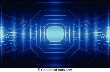 Abstract technology speed concept. vector illustration background