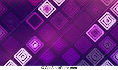 abstract technology squares loop
