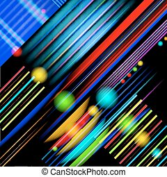 Abstract technology-style background.