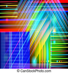Abstract technology-style background with light effect.