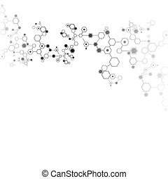 Abstract technology vector background. - Abstract technology...
