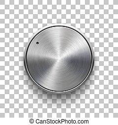 Abstract Technology Volume Knob - Audio volume knob, ...