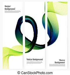 Abstract template vertical banner