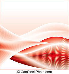 Abstract template wave background