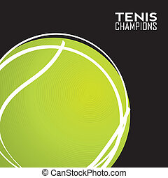 abstract tennis