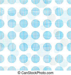 Abstract textile blue polka dots stripes seamless pattern...