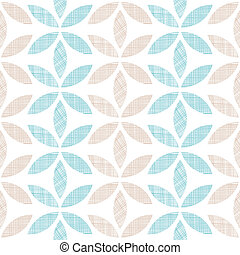 Abstract textile leaves stripes seamless pattern background