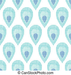 Abstract textile peacock feathers seamless pattern...