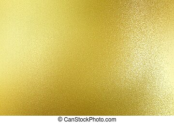 Abstract texture background, dirty on gold metal plate