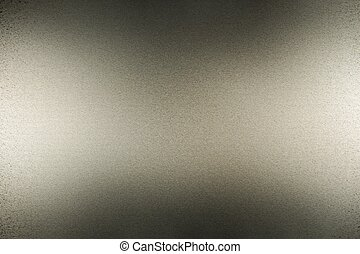 Abstract texture background, reflection brushed black metallic sheet