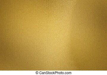 Abstract texture background, reflection brushed gold metallic sheet