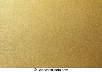 Abstract texture background, rough golden metallic wall