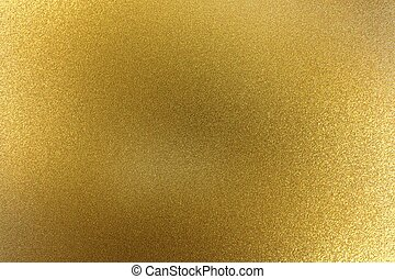 Abstract texture background, sparkle brushed golden metallic sheet