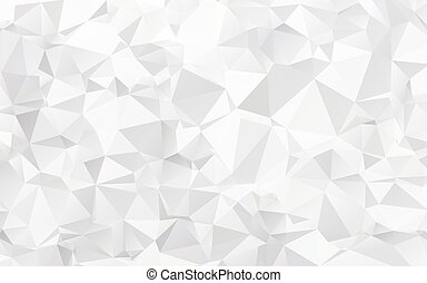 Abstract texture of white crumpled paper