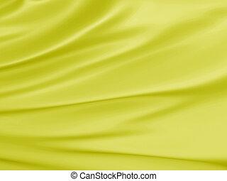Abstract Texture, Yellow Silk