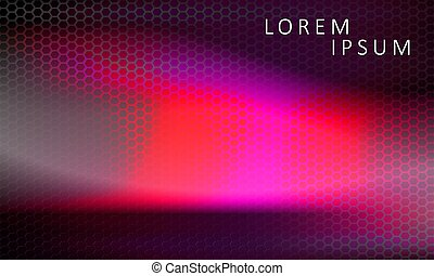 Abstract textured dark pink with black mesh background