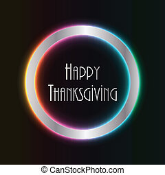 abstract thanksgiving background with special design