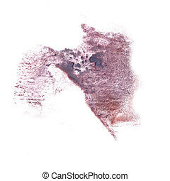 abstract The grey drawing stroke ink watercolor brush water colo