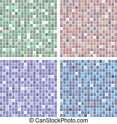 abstract tile backgrounds