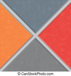 Abstract tile grunge background. Vector illustration