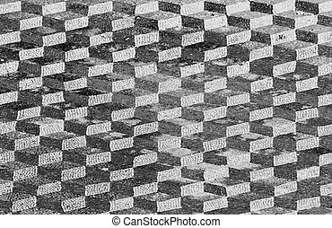 abstract tiled background