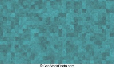 Abstract tiles background - BG animation of tiles