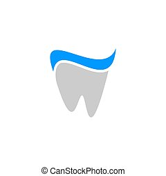 Abstract Tooth logo