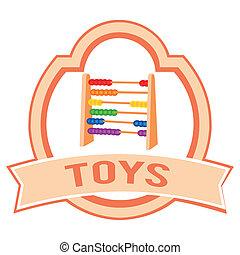 toy label