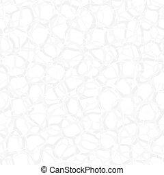 Abstract translucent light biological vector texture. Seamless wallpaper pattern