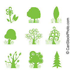 Abstract Tree Collection icon