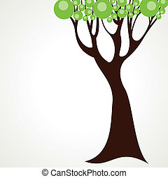 abstract tree design