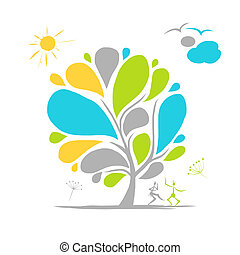 Abstract tree for your design