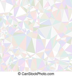 Abstract triangle background. Colorful holographic design triangular vector pattern.