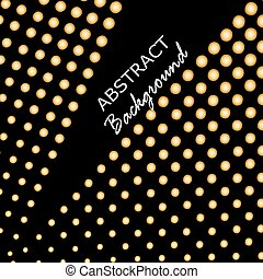 Abstract triangle background. Gold background. Vector illustration