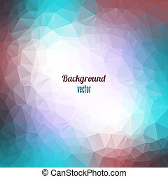 Abstract Triangle Geometrical Background.