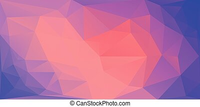 Abstract triangle multicolor background. Vector EPS 10