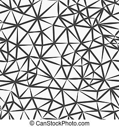 Abstract Triangle Polygonal seamless pattern