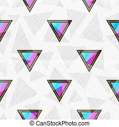 Abstract triangle seamless pattern.