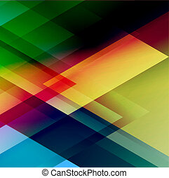 Abstract triangle vector background for Your Text