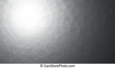 Abstract triangles pattern gray background