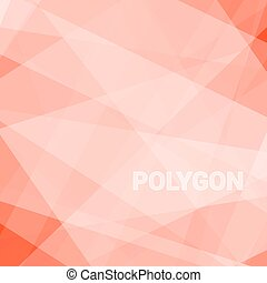 Abstract triangular background - Lowpoly Trendy Background...