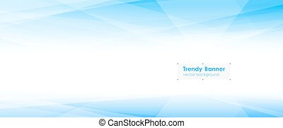 Abstract triangular background - LowPoly Trendy Banner with...