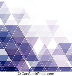 Abstract triangular background. Vector illustration